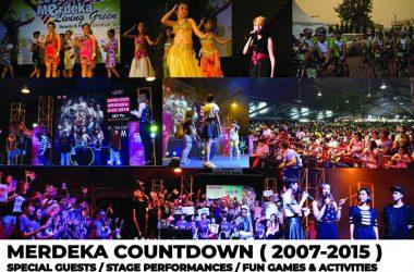 Merdeka Countdown 2007-2015