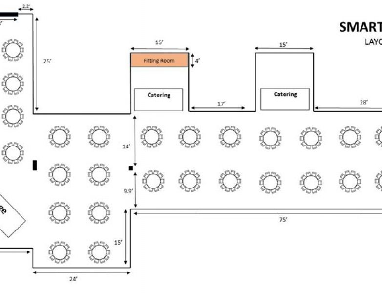 Smart Hall Table Layout